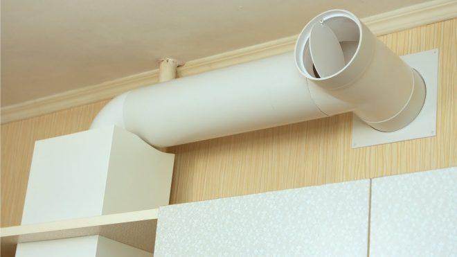 Воздуховод кухонной вытяжки