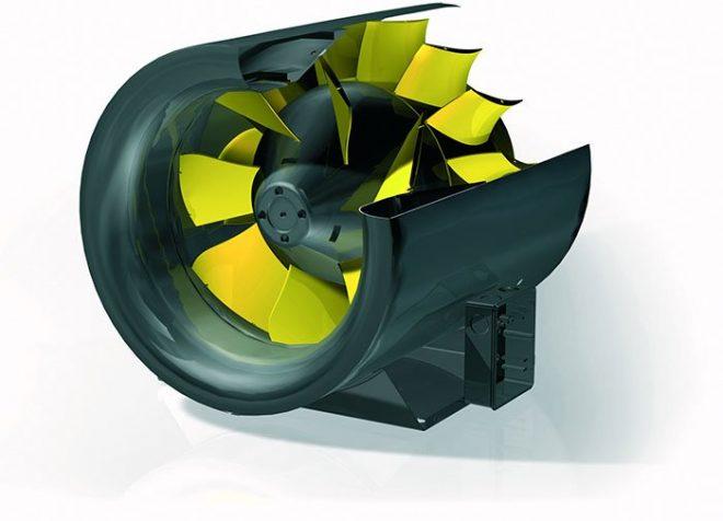 Диагональный вентилятор