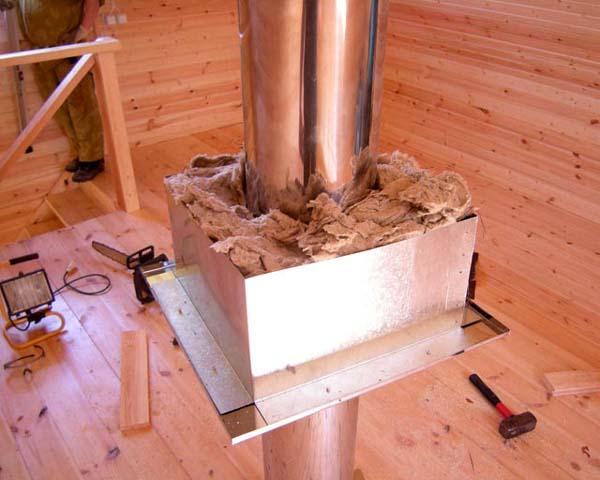 Чем обмотать трубу дымохода металлическую от конденсата