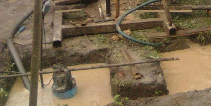 самодельный насос для канализации